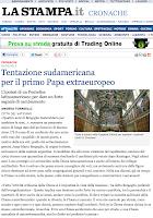 """Promemoria di Paolo Attivissimo: Francesco non è """"il primo papa extraeuropeo"""""""