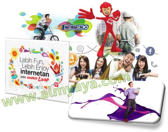 Gambar: berbagai provider penyedia jasa internet di Indonesia