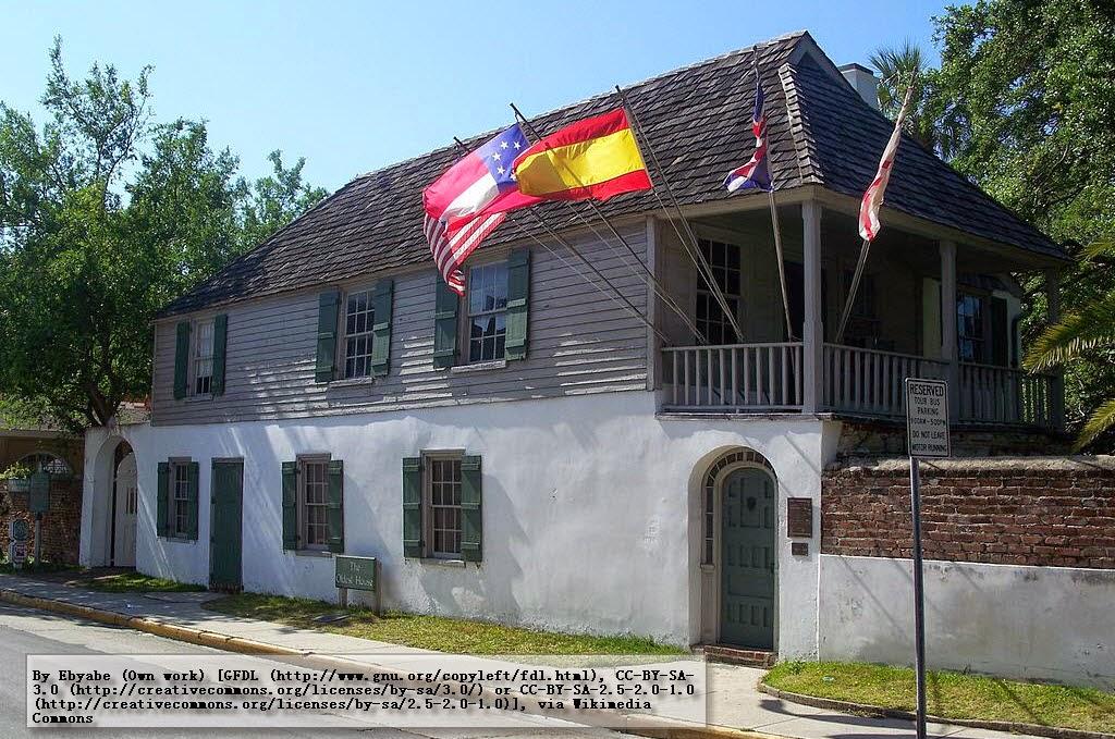 casa colonial más antigua en Florida (EEUU)