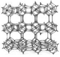 Struktur kerangka zeolit