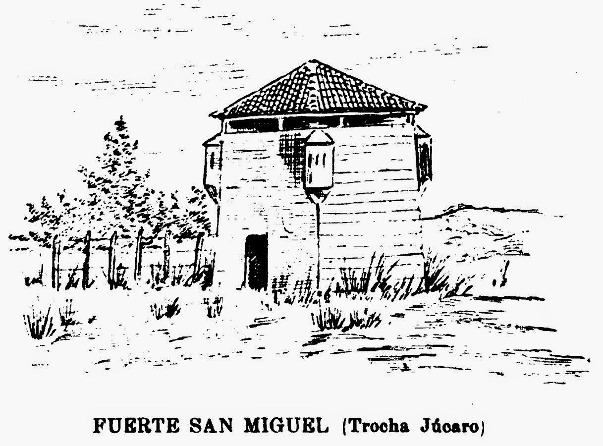 Fuerte San Miguel, con 4 garitas