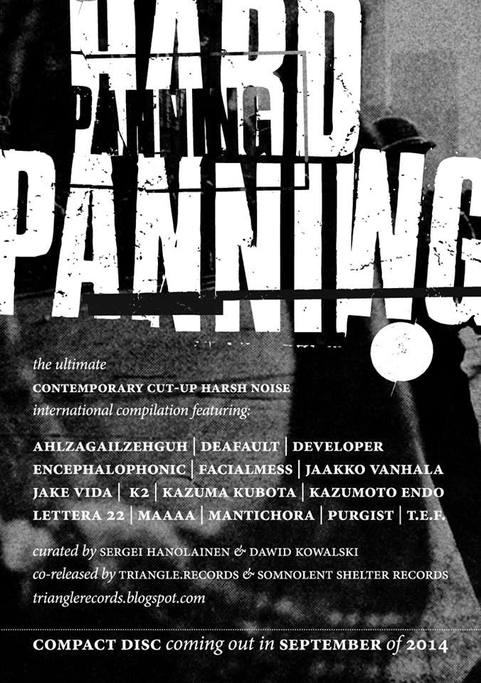 HARD PANNING the ultimate cut-up harsh noise compilation CD HP%2Bad