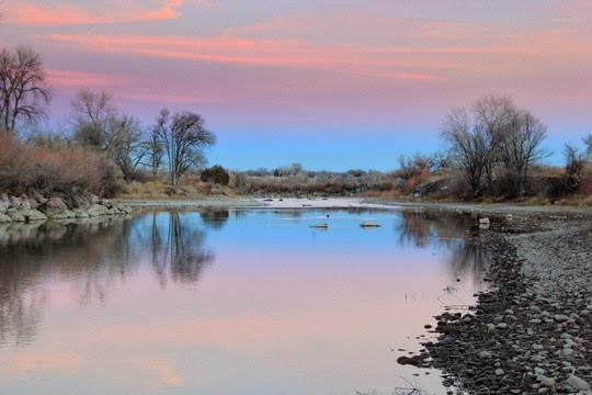 Photo of the Month: The River at Dusk