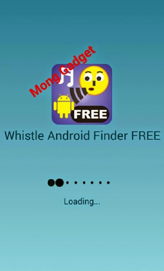 Aplikasi whistle android finder, menemukan android dengan bersiul