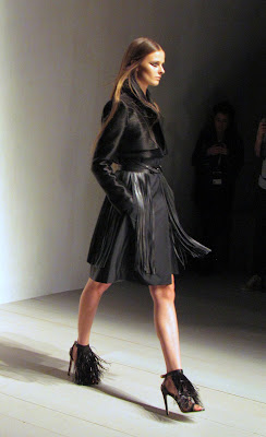Marios Schwab for SS13 black outfit