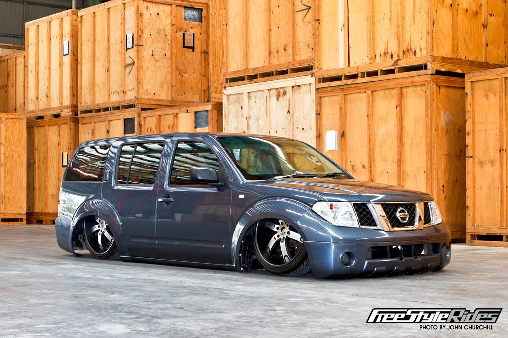 Lowered Nissan Pathfinder