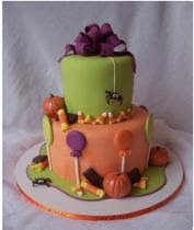 Picture of Halloween Birthday Cakes