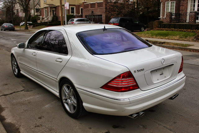 2003 mercedes benz s500 w220 white benztuning. Black Bedroom Furniture Sets. Home Design Ideas