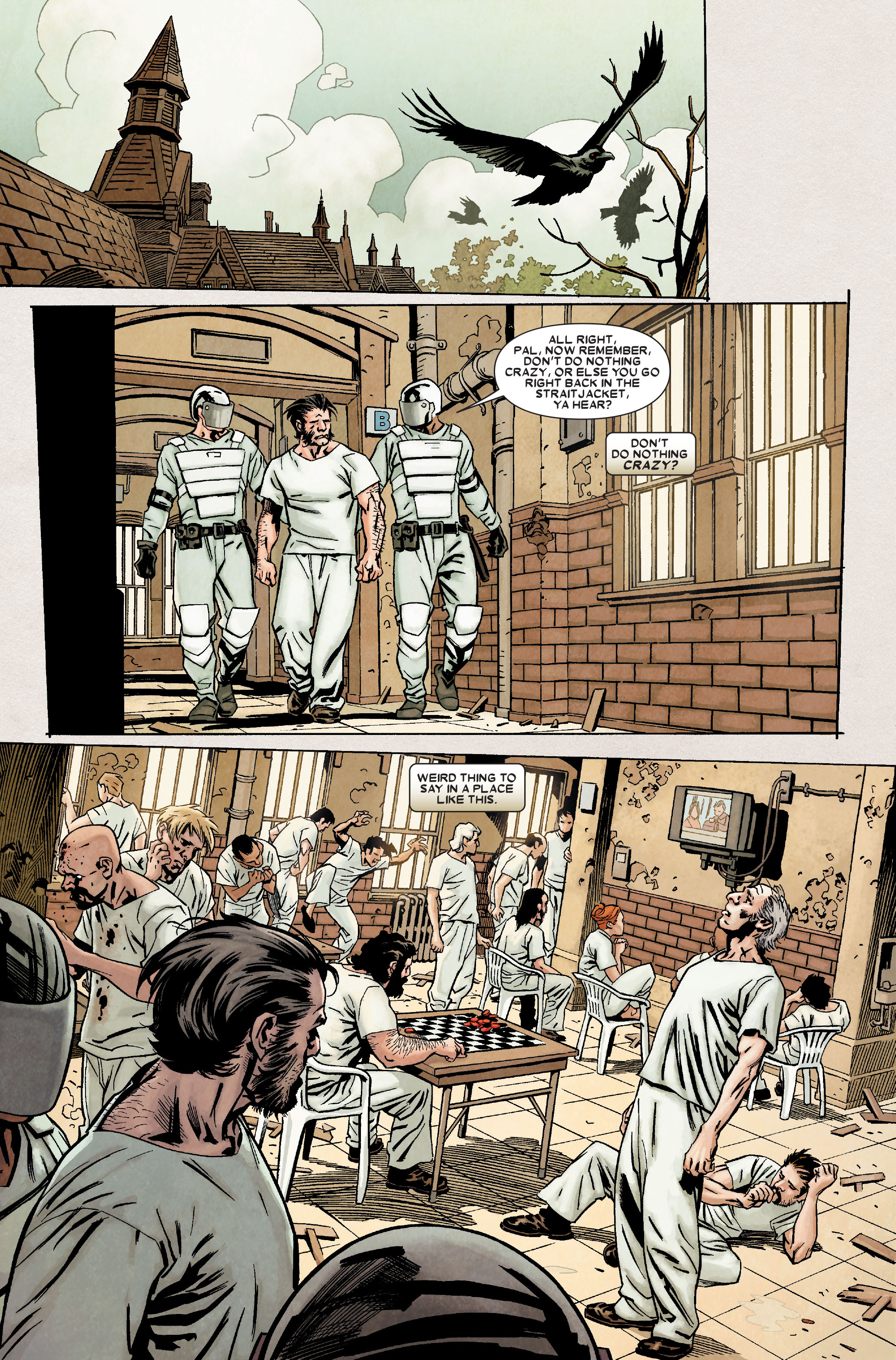 Wolverine: Weapon X #6 #11 - English 8