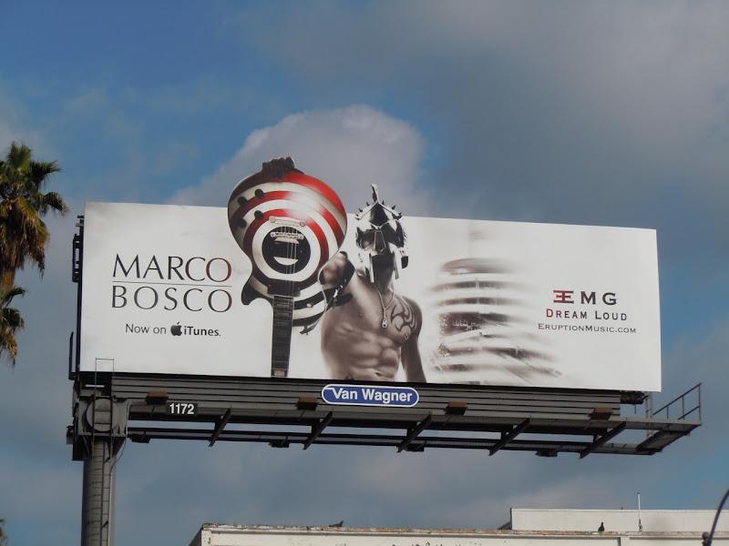 Marco Bosco music billboard