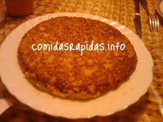 receta de tortilla de pan