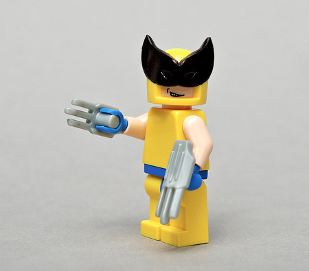 how to make lego wolverine mask