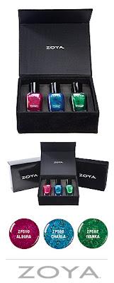 12 Days of Beauty Giveaways, Zoya, Zoya Color Box, Zoya nail polish, Zoya nail lacquer, nail, nails, nail polish, polish, lacquer, nail lacquer, gift set, nail polish gift set, giveaway, beauty giveaway
