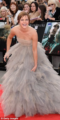 Emma Watson at Harry Potter premiere
