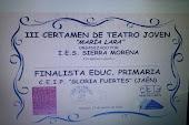 """FINALISTAS EN EL CERTAMEN DE TEATRO """"MARÍA LARA"""""""