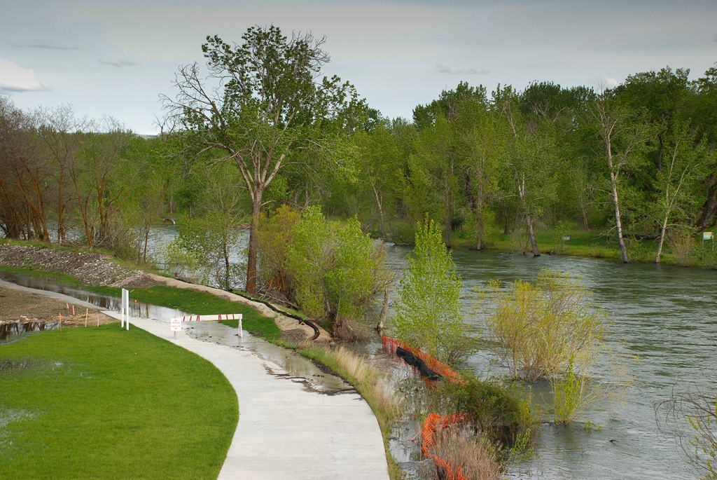 The boise river fishery could the boise river flood for Boise river fishing