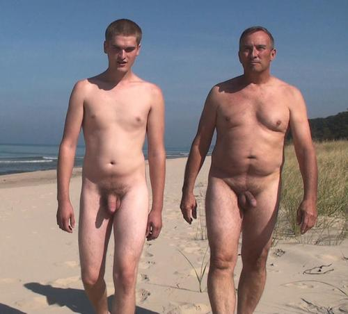 Real naked dad and son nudes