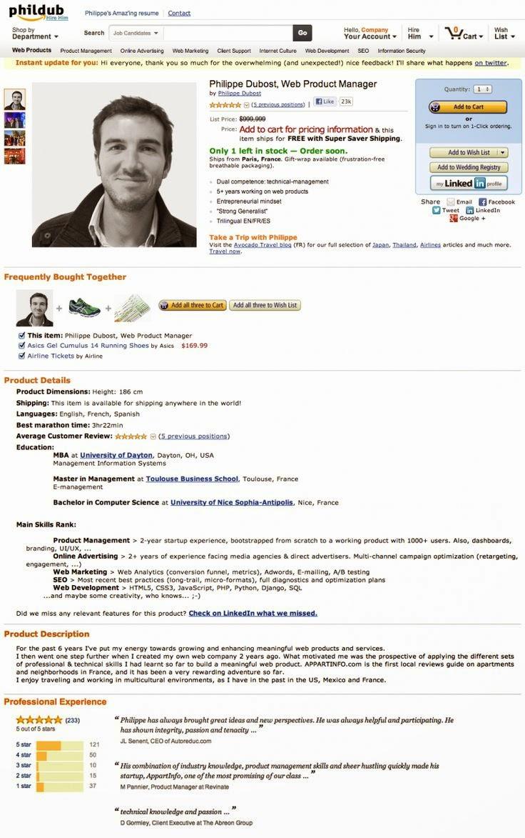 Perfecto Currículums Más Impresionantes Colección de Imágenes ...