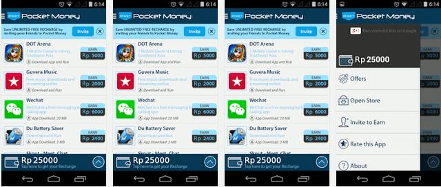 Cara Terbaru Mendapatkan Pulsa Gratis Menggunakan Android
