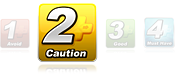 Note 2 Caution