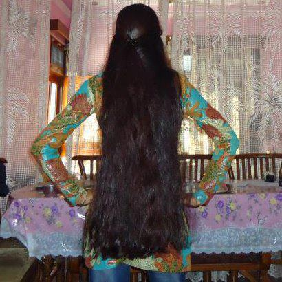 long Kerala beautiful girl hair with