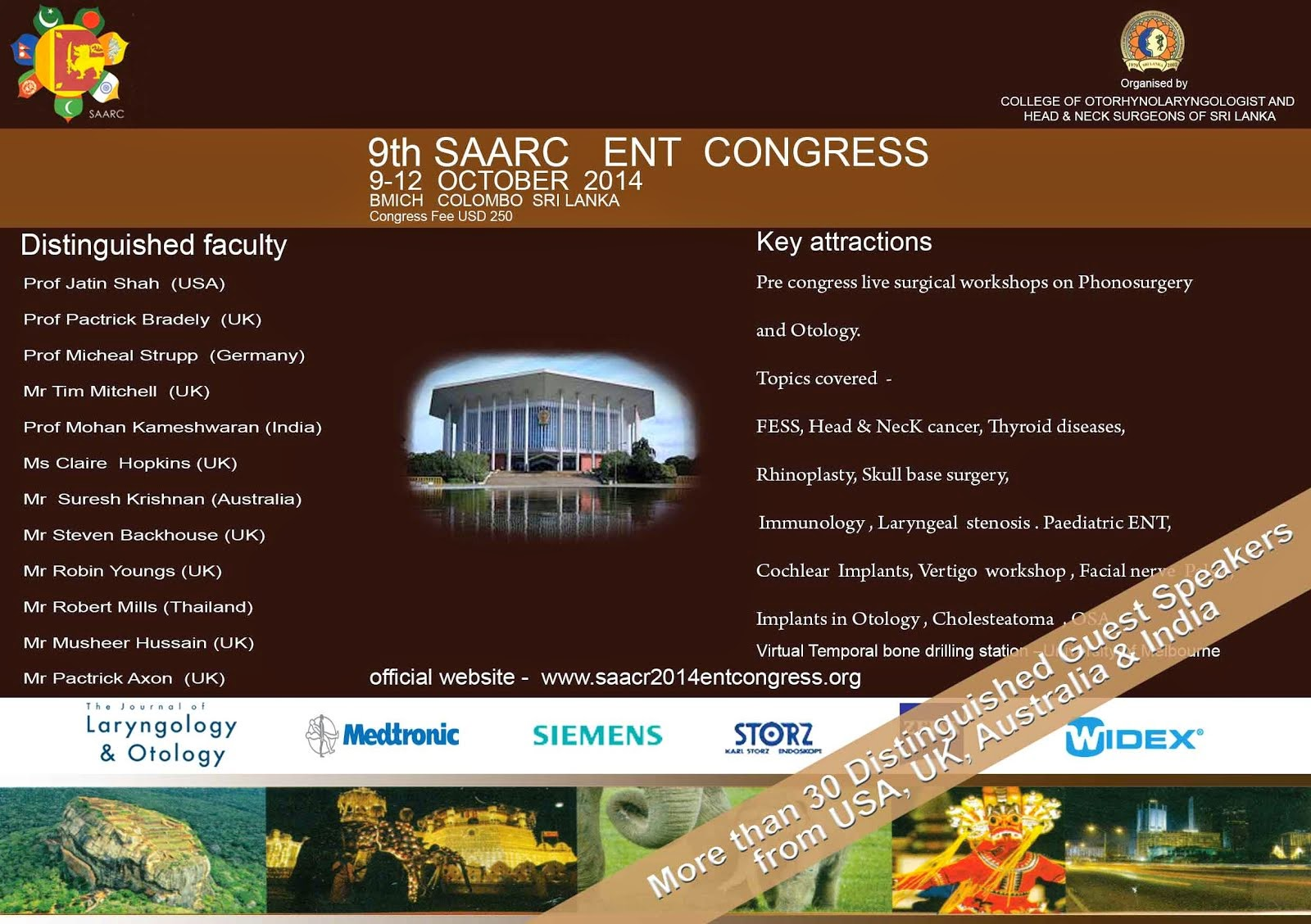 9th SAARC ENT congress 2014,