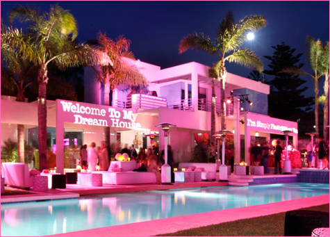 Amazing Pink House Design