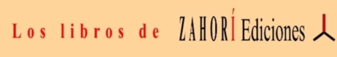 Los libros de Zahorí Ediciones