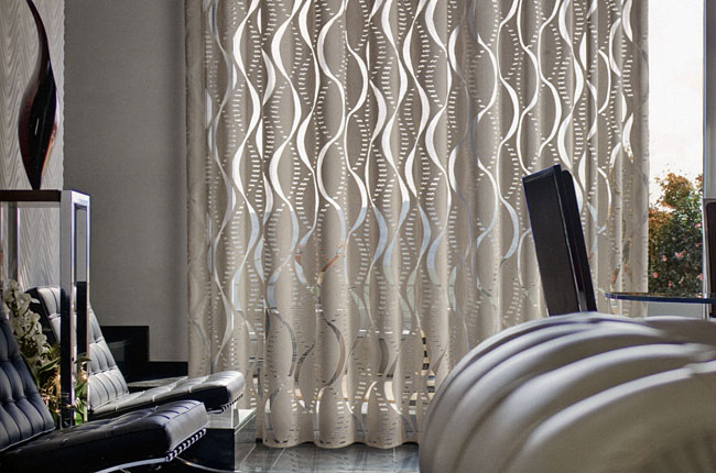Modernas cortinas de interiores ideas para decorar for Lo ultimo en cortinas para dormitorios