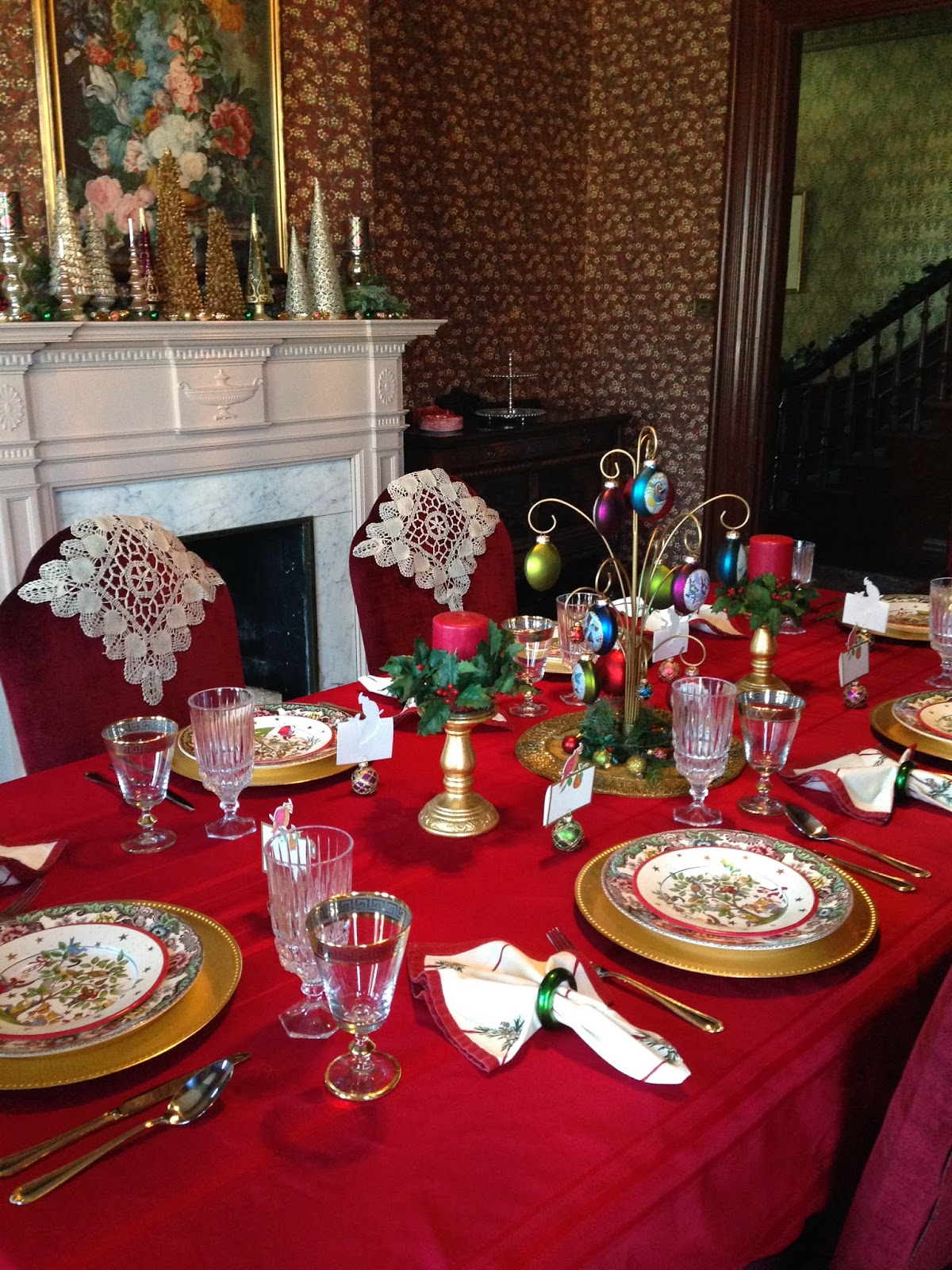 Carolinajewel 39 S Table The Twelve Days Of Christmas Tablescape