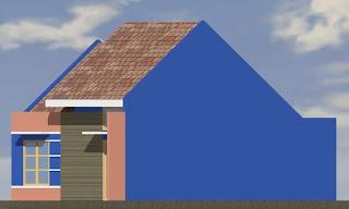 sketsa rumah minimalis