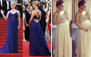 vestidos de festa para gestante 2015