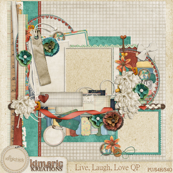 """""""Live, Laugh, Love"""" QP from Kimeric Kreations"""