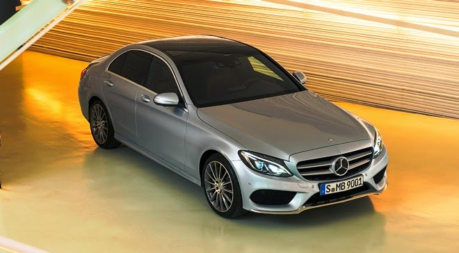 Mercedes Benz C class baru 2014