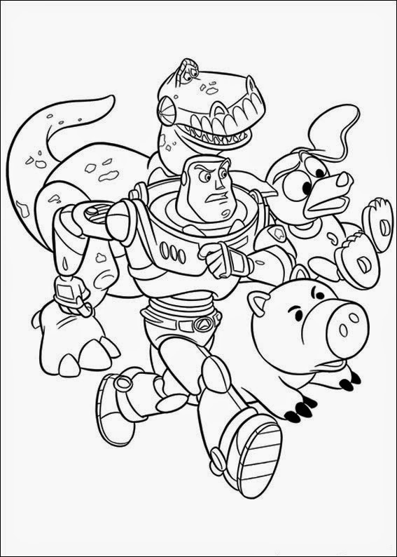Free coloring pages of woody head