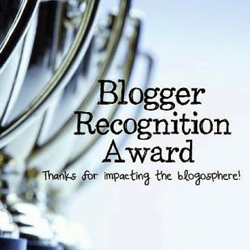 3 Blogger Recognition Award concedidos