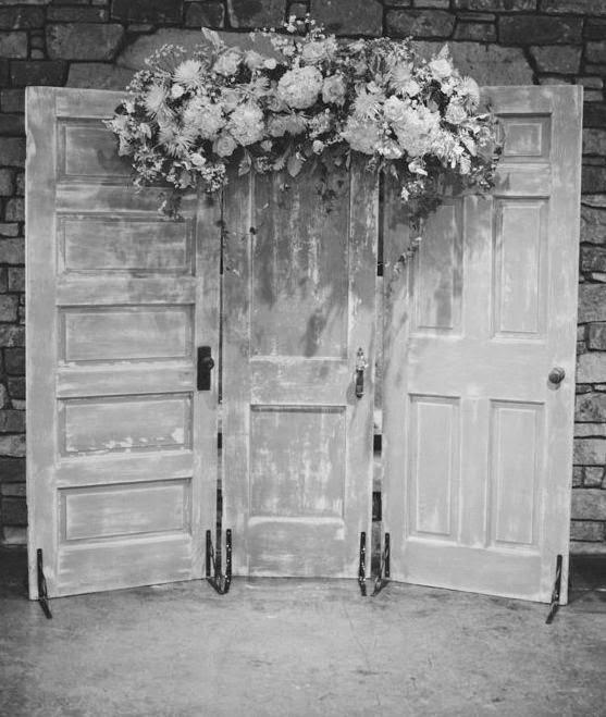 Gorgeous Wedding Doors Are A Pinterest Win! & Make The Best of Things: Gorgeous Wedding Doors Are A Pinterest Win!