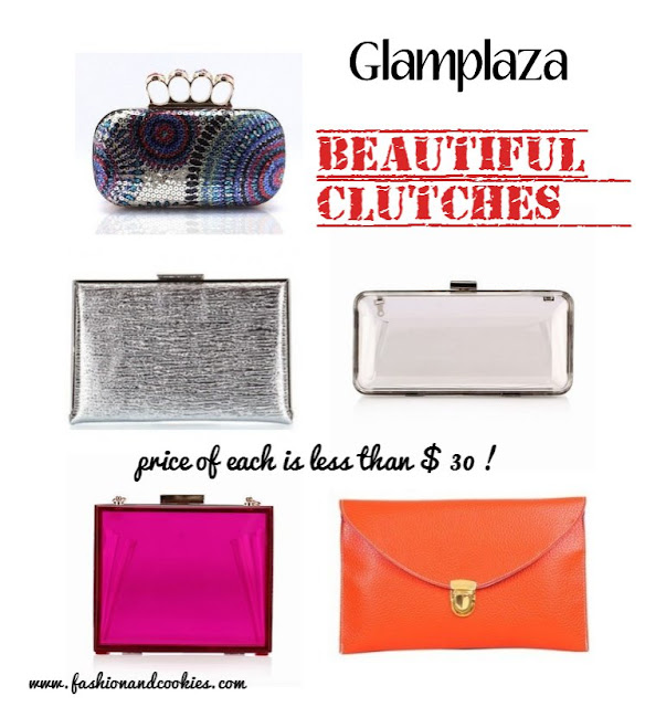 Glamplaza.com clutches on fashion and cookies