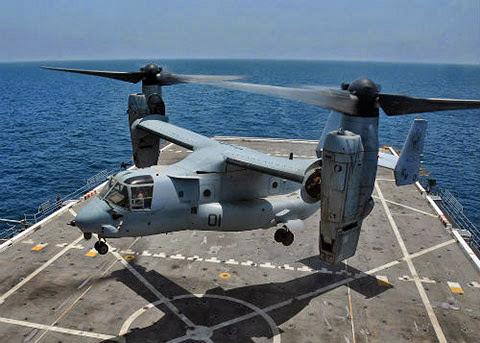 Mỹ triển khai đến Nhật Bản siêu trực thăng vận tải Osprey, Trung Quốc đưa vào biên chế siêu tàu đổ bộ Zubr. Trung Quốc và Nhật Bản đang trong quá trình chạy đua vũ trang để khi xảy ra tranh chấp tại Senkaku/Điếu Ngư, quân lính có thể huy động chỉ mất vài giờ đồng hồ