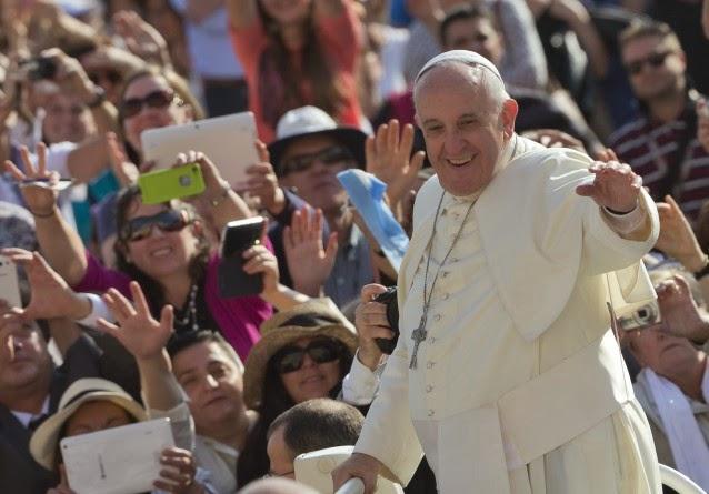 Pope Francis (Credit: AP Photo/Alessandra Tarantino) Click to Enlarge.