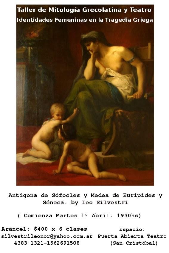 Taller Identidades Femeninas en la Tragedia Griega
