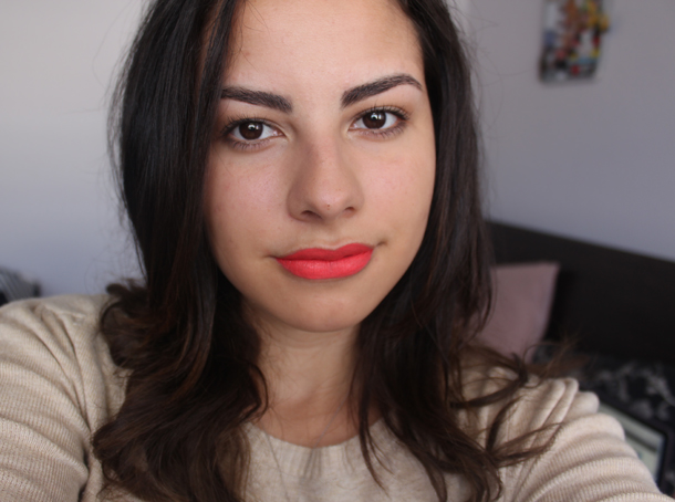 hourglass opaque rouge liquide lipstick muse face swatch