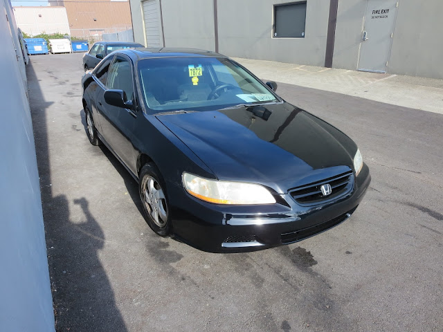 Accord after being painted at Almost Everything Auto Body