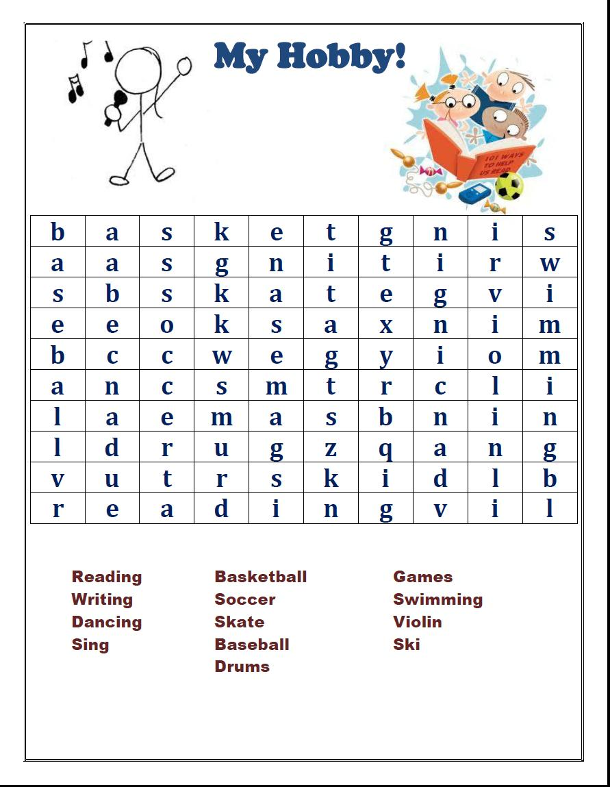 GAMES: Word Search Games