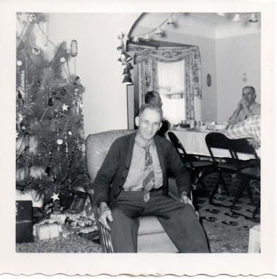 Climbing My Family Tree: My great-grandfather, Owen James Henn, Christmas 1955