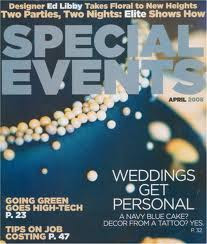 As Seen In Special Event Magazine
