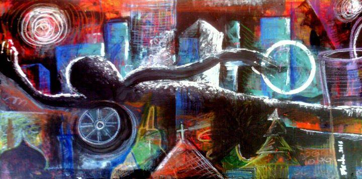 Salah Satu Lukisan karya Andry Deblenk