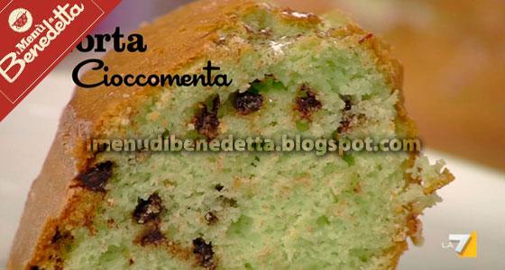 Torta Ciocco-Menta di Benedetta Parodi