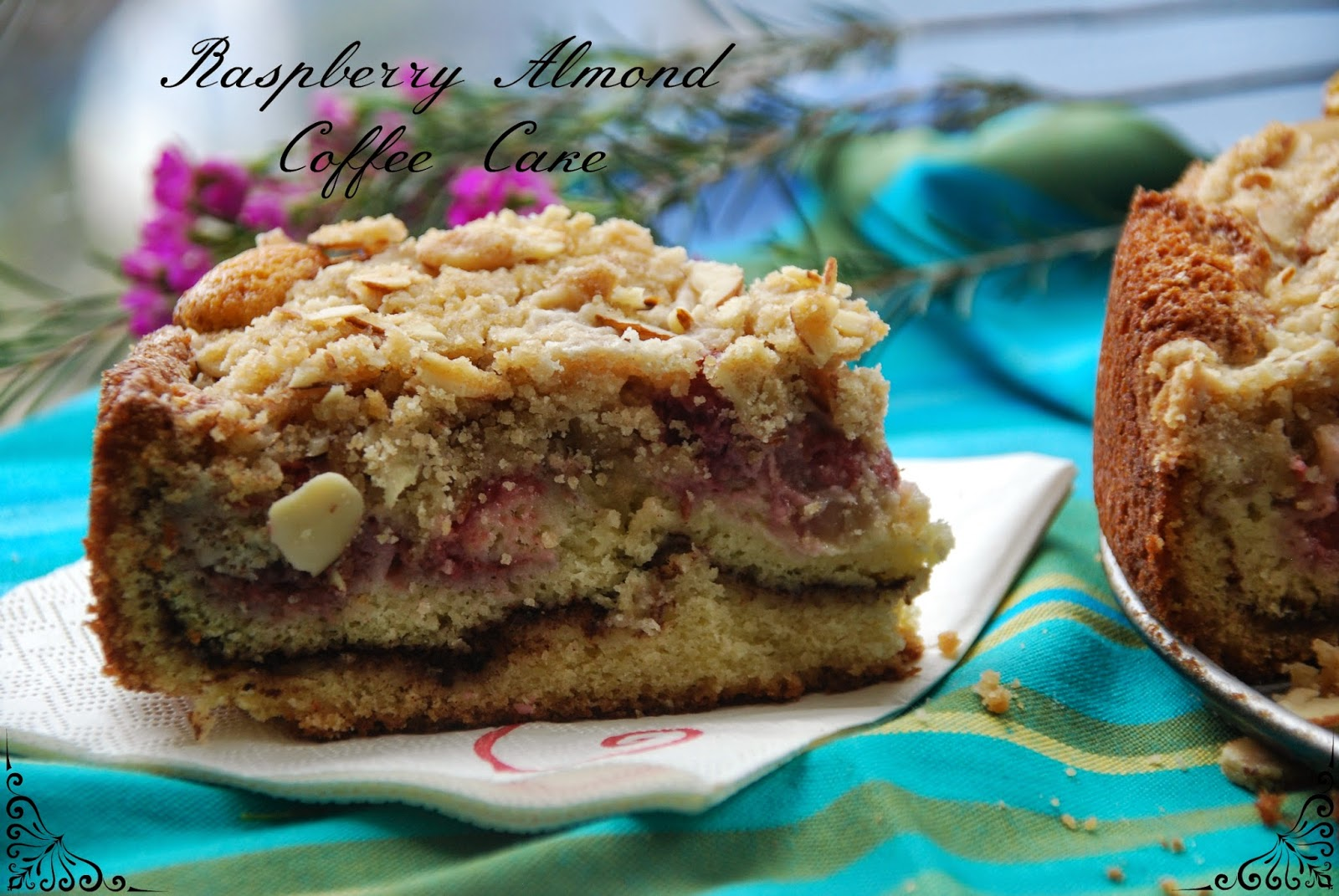 Baking and Creating with Avril: (SRC) Raspberry Almond Coffee Cake