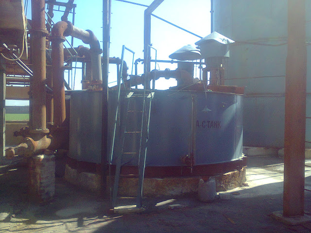 Acid circulation tank (ACD) the heart of the sulfuric acid plant